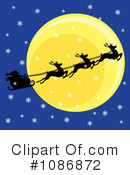 Santa Clipart #1086872 by Pams Clipart