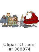 Royalty-Free (RF) Santa Clipart Illustration #1086874