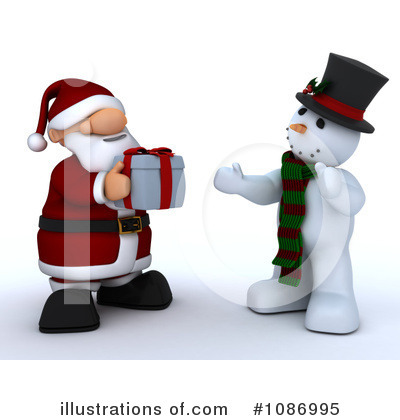 Royalty-Free (RF) Santa Clipart Illustration by KJ Pargeter - Stock Sample #1086995