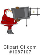 Royalty-Free (RF) Santa Clipart Illustration #1087107