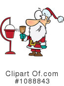 Royalty-Free (RF) Santa Clipart Illustration #1088843