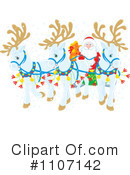 Royalty-Free (RF) Santa Clipart Illustration #1107142