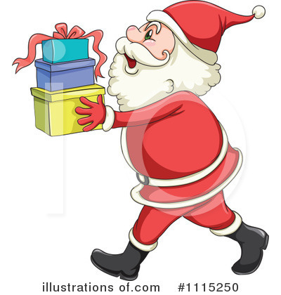 Santa Clipart #1115250 by Graphics RF