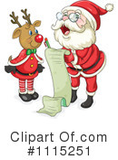 Royalty-Free (RF) Santa Clipart Illustration #1115251