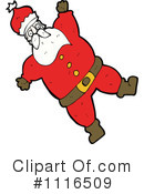 Santa Clipart #1116509 by lineartestpilot