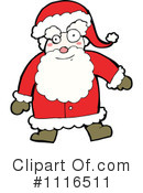 Santa Clipart #1116511 by lineartestpilot