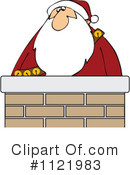 Royalty-Free (RF) Santa Clipart Illustration #1121983