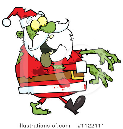 Santa Clipart #1122111 by Hit Toon