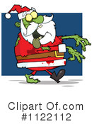 Royalty-Free (RF) santa Clipart Illustration #1122112
