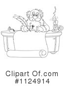 Royalty-Free (RF) Santa Clipart Illustration #1124914