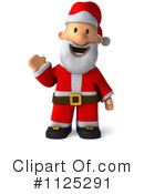 Royalty-Free (RF) Santa Clipart Illustration #1125291