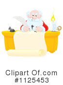 Santa Clipart #1125453 by Alex Bannykh