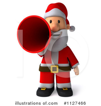 Royalty-Free (RF) Santa Clipart Illustration by Julos - Stock Sample #1127466