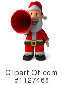 Royalty-Free (RF) Santa Clipart Illustration #1127466