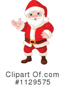 Royalty-Free (RF) Santa Clipart Illustration #1129575