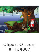 Royalty-Free (RF) Santa Clipart Illustration #1134307