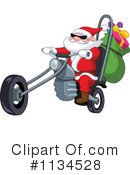 Royalty-Free (RF) Santa Clipart Illustration #1134528