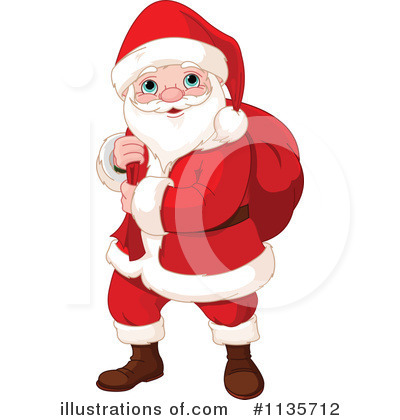Santa Clipart #1135712 by Pushkin