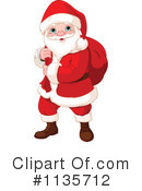 Royalty-Free (RF) Santa Clipart Illustration #1135712