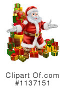 Santa Clipart #1137151 by AtStockIllustration