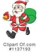 Royalty-Free (RF) santa Clipart Illustration #1137193
