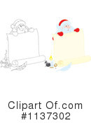 Royalty-Free (RF) Santa Clipart Illustration #1137302