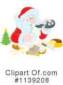 Santa Clipart #1139208 by Alex Bannykh