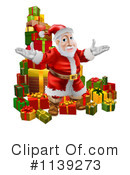 Santa Clipart #1139273 by AtStockIllustration