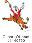 Royalty-Free (RF) Santa Clipart Illustration #1140760