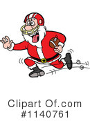 Royalty-Free (RF) Santa Clipart Illustration #1140761