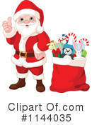 Royalty-Free (RF) Santa Clipart Illustration #1144035