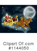 Royalty-Free (RF) Santa Clipart Illustration #1144050