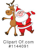 Royalty-Free (RF) Santa Clipart Illustration #1144091
