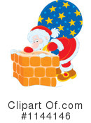 Royalty-Free (RF) Santa Clipart Illustration #1144146