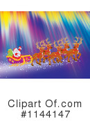 Royalty-Free (RF) Santa Clipart Illustration #1144147