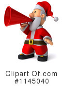 Royalty-Free (RF) Santa Clipart Illustration #1145040