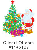 Santa Clipart #1145137 by Alex Bannykh