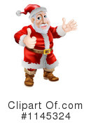 Santa Clipart #1145324 by AtStockIllustration
