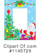 Santa Clipart #1145729 by Alex Bannykh