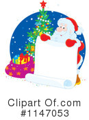 Royalty-Free (RF) Santa Clipart Illustration #1147053