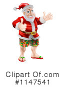 Santa Clipart #1147541 by AtStockIllustration