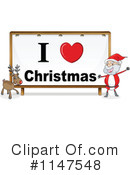 Royalty-Free (RF) Santa Clipart Illustration #1147548