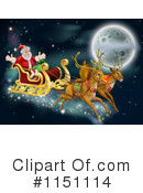 Royalty-Free (RF) Santa Clipart Illustration #1151114