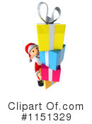 Royalty-Free (RF) Santa Clipart Illustration #1151329
