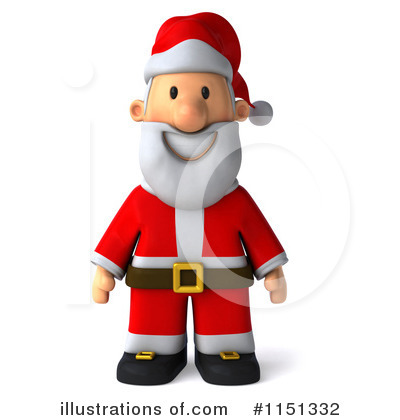 Royalty-Free (RF) Santa Clipart Illustration by Julos - Stock Sample #1151332