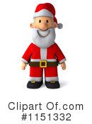 Royalty-Free (RF) Santa Clipart Illustration #1151332