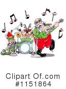Royalty-Free (RF) Santa Clipart Illustration #1151864