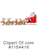Royalty-Free (RF) Santa Clipart Illustration #1154416