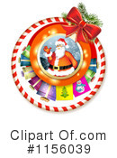 Santa Clipart #1156039 by merlinul