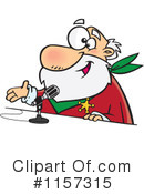 Royalty-Free (RF) Santa Clipart Illustration #1157315